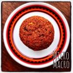 muffin vegan di farro con cioccolato e nocciole