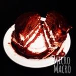 torta vegan cioccolato e panna