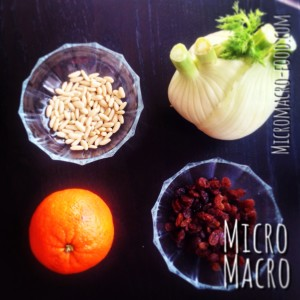 insalata-arancia-pinoli-uvette