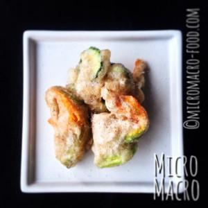 frittura semintegrale fiori zucchini