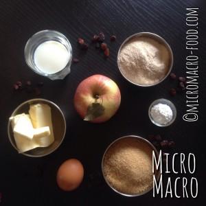 torta-mele-farro-uvette-ingredienti-micromacro-food