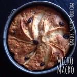 torta-mele-farro-uvette-micromacro-food