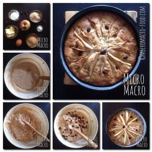 torta-mele-farro-uvette-ricetta-micromacro-food